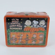 It's the Great Pumpkin Charlie Brown Dominos 2006 Lunch Box Collectible NEW