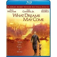 WHAT DREAMS MAY COME - ROBIN WILLIAMS  HI-DEF BLU RAY  AUS EXPRESS + TRACKING