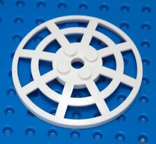 LEGO White Dish 6 x 6 Inverted (Radar) Webbed - Type 2 7619 7754 8536 7130 5985