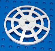 LEGO White Dish 6 x 6 Inverted (Radar) Webbed - Type 2 7619 7754 8536 7130 5985