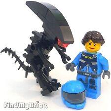 SW839 Lego Custom Human Female & Alien Minifigures - Custom Prometheus NEW