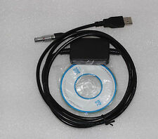 NEW 2m surveying instrument GEV189 (734700) USB data Cable for Leica fit window7