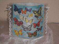 Tischlicht/Windlicht Schmetterlinge