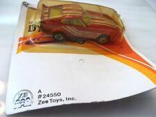 RARE ERROR CARD Vintage ZEE D75 Datsun Fairlady Die Cast Car Z 240 280 ZX #24550