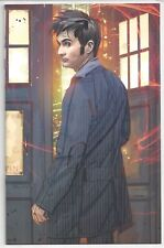 DOCTOR WHO #1 (2008) EDWARDS HTF VIRGIN VARIANT TENNANT 10TH NM IDW!