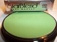 Mehron Green Star Blend Cake Pancake Water Base Stage Makeup Professional