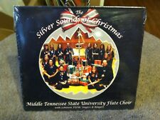 The Silver Sounds of Christmas (CD, Middle Tennessee State University) Brand New