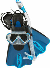 Cressi Palau SAF Set Mask Snorkel Fin Combo