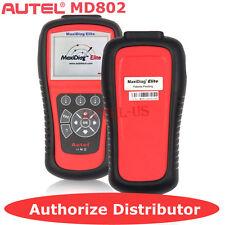 Autel MD802 OBD2 Diagnostic Tool Scanner Code Reader 4 System ABS Engine Air bag