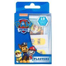 Paw Patrol Plasters - 18 hypoallergenic washproof latex free