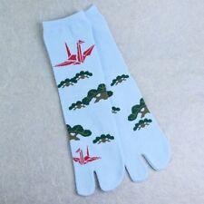 Zehensocken Kranich & Kiefer, japanische Socken mit abgeteiltem Zeh