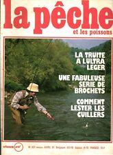 Revue  La pêche et les poissons No 431 Avril 81