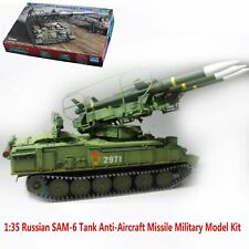 Trumpeter Military Russian SAM-6 Tank Model Kit 1:35 Anti-aircraft Missile DIY