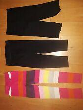 3 Paar Leggings 128 1 × Stricklegging H&M + Pocopiano Mädchen