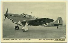 WW2 VALENTINES AIRCRAFT RECOGNITION CARD - THE FAIREY FULMAR I.