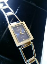 BNIB AVIA LADIES STAINLESS STEEL QUARTZ WATCH BLUE DIAL