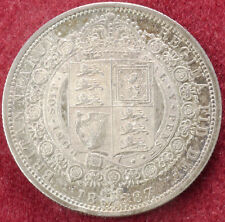 GB Halfcrown 1887 (C1805)