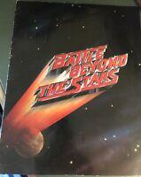 Vintage 1980 Battle Beyond The Stars Sci Fi Film Promo Book 80s /Post Star Wars