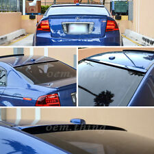 Painted For ACURA TL 3rd F-Style Rear Roof Window Spoiler Wing 2008 4D Sedan