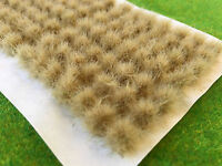 Straw Tall Wild Tufts - Model Railway Scenery Warhammer Bushes Static Grass Dry