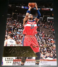 Paul Pierce 2015-16 Panini Prestige BONUS SHOTS GOLD Parallel Card (#'d 04/10)