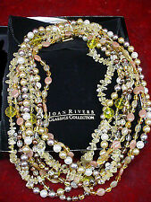 Joan Rivers Neutrals Torsade Necklace with Shortner