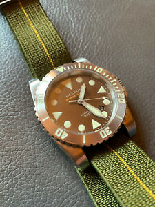 helson shark diver 9015 automatic watch