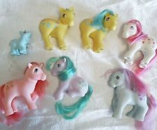 My little pony G1 lot of flawed/ bait condition ponies