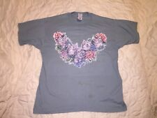 Vintage 90s Kitten T-Shirt Cats Size Large Shirt Green Flowers Tyler The Creator