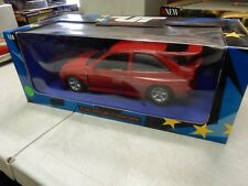 1.18 FORD ESCORT COSWORTH IN RED UT MODELS 1.18 SCALE