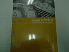 2011 Harley Davidson TRIKE FLHTCUTG TRI GLIDE Touring Parts Catalog Manual NEW
