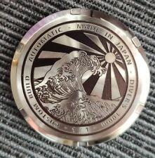 Thin Custom Laser engraved Caseback Seiko Skx007 Skx013 NH35 NH36 mod 100m