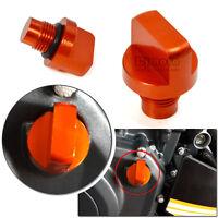 Bouchon de Vidange D'huile orange Pour KTM DUKE 125/200/390