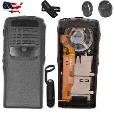 Black Replacement Housing Case for Motorola PRO5150 Portable Radio (Speaker+mic)