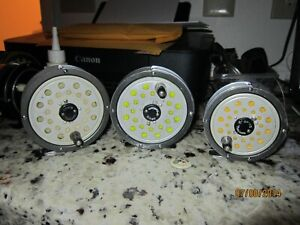 """Vintage Orvis Madison """" Lot of 3 """" Fly Reels 6/7, 8, 9"""