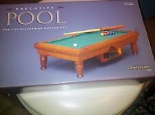 Miniature Executive Desk Top Pool Billiards Table By Are You Game