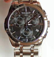 Tissot Couturier 41 mm Chronograph Men's Watch - Silver (T0356171105100)