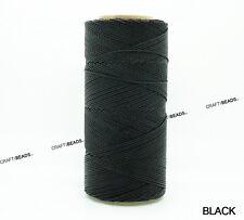 1.5MM Waxed Polyester Linhasita Cord Macrame Bracelet String Thread 125yards