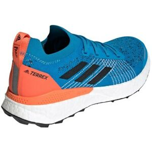 Adidas Terrex Two Ultra Parley TRAIL RUNNING SHOE TRAINER EF2134 Sharp Blue UK 9