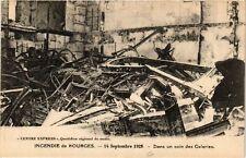 CPA  Bourges - Incendie de Bourges - 1928 - Dans un coin des Galeries  (634340)