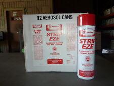 CASE of 12 cans Pineco Strip Eze 18 oz Baseboard Cleaner Wax Stripper Aerosol
