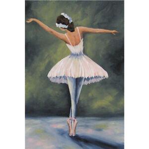 Full Drill Diamond Painting Kit Like Cross Stitch Ballet Dancer Girl DIY ZC010B