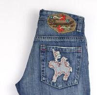 DSQUARD2 Femme Droit Slim Jean Taille 44 (W30 L34) AMZ1082