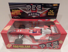 PEZ RACING CAR CANDY DISPENSER RED NEW IN BOX