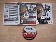 Singstar Rocks! - Playstation 2 PS2 Complete with Manual