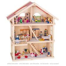 Puppenstuben & -häuser Puppenhaus MDF Holz Flache Packung Set 1:12 Maßstab Haven Ferienhaus Mj27