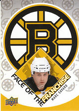 09/10 UPPER DECK FACE OF THE FRANCHISE #FF6 MARC SAVARD BRUINS *9046