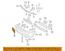 TOYOTA OEM 4Runner Front Bumper-Foglight Fog Light Bezel Trim Left 5212835040