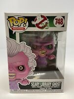NEW Funko Pop #748 Ghostbusters Scary Library Ghost Vinyl Figure FP20