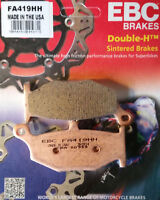 EBC/FA419HH Sintered Brake Pads (Rear) - Suzuki GSXR1000 K7-K8, GSX1300 B-King